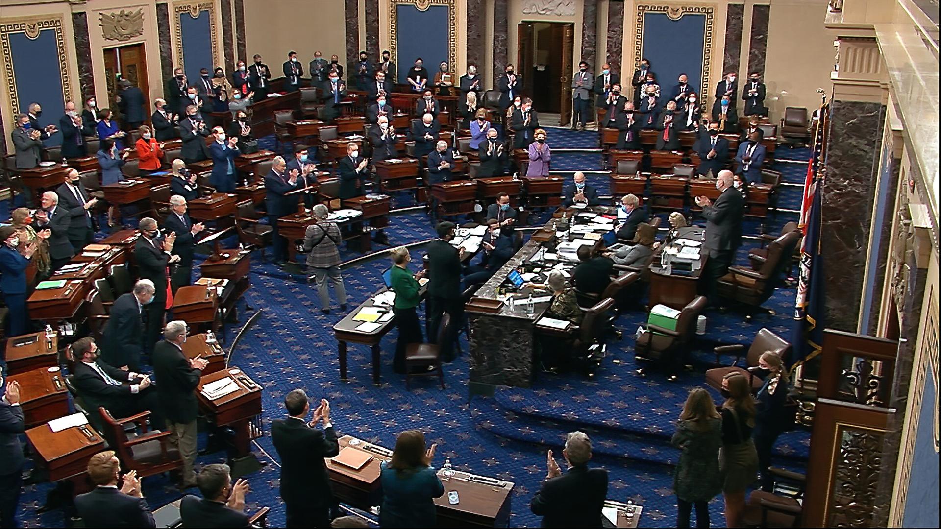 US Senate passes Biden's $1.9 trillion COVID-19 relief plan