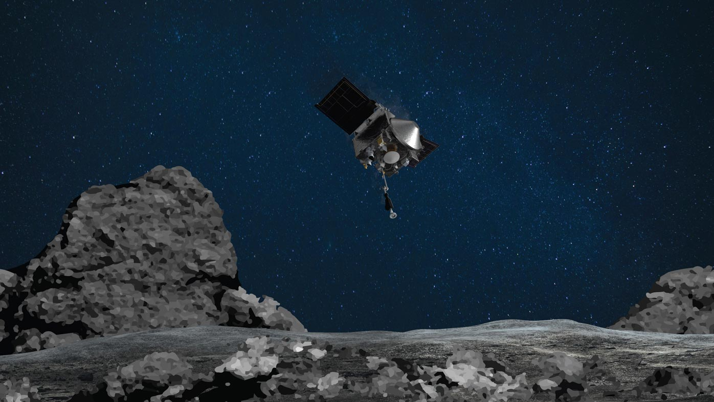 NASA to perform first touchdown and return from ancient asteroid
