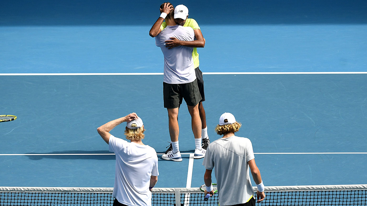 Australian Open: Joe Salisbury and Rajiv Ram won the men's doubles title