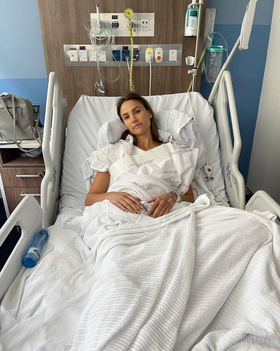 Rachael Finch told fans the surgery was a huge success.