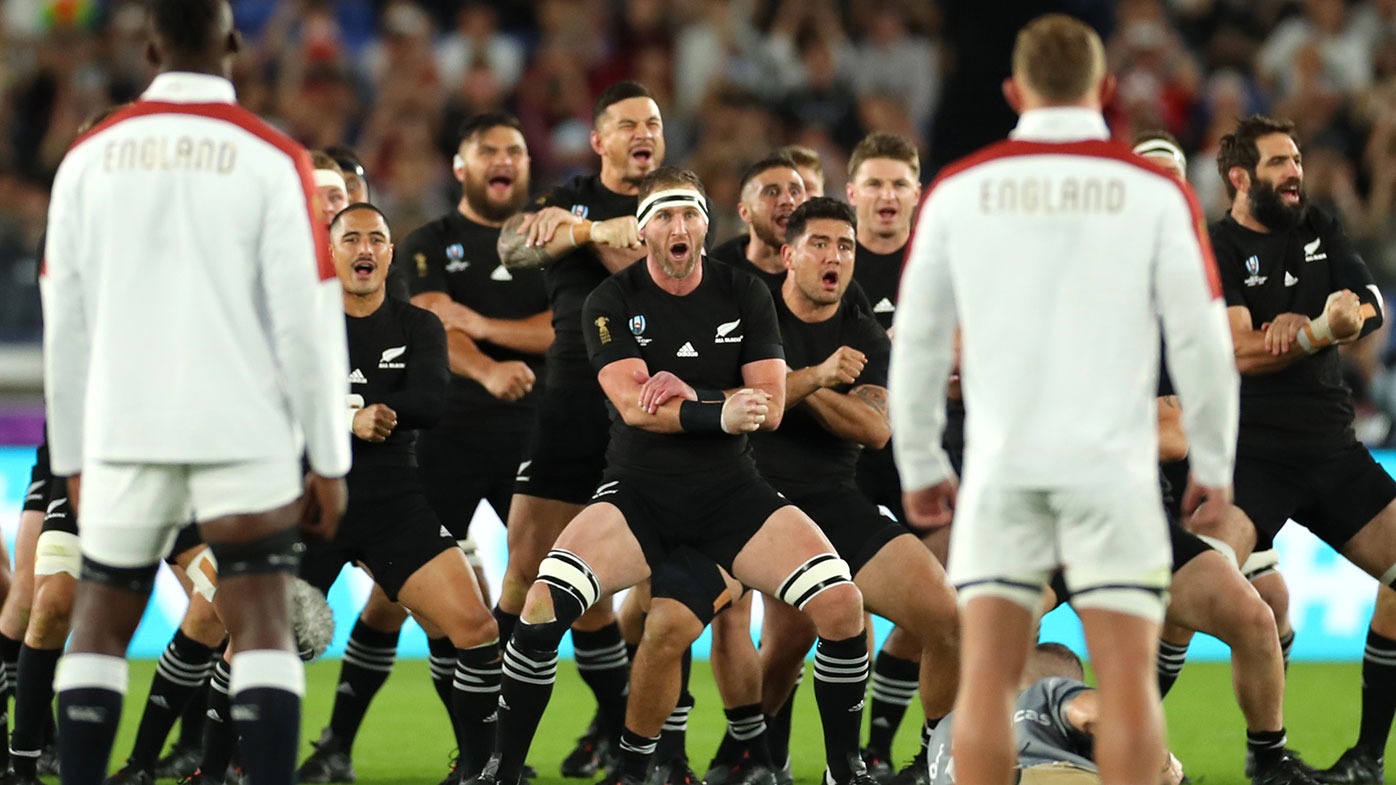 England's response to New Zealand's World Cup haka dance goes viral
