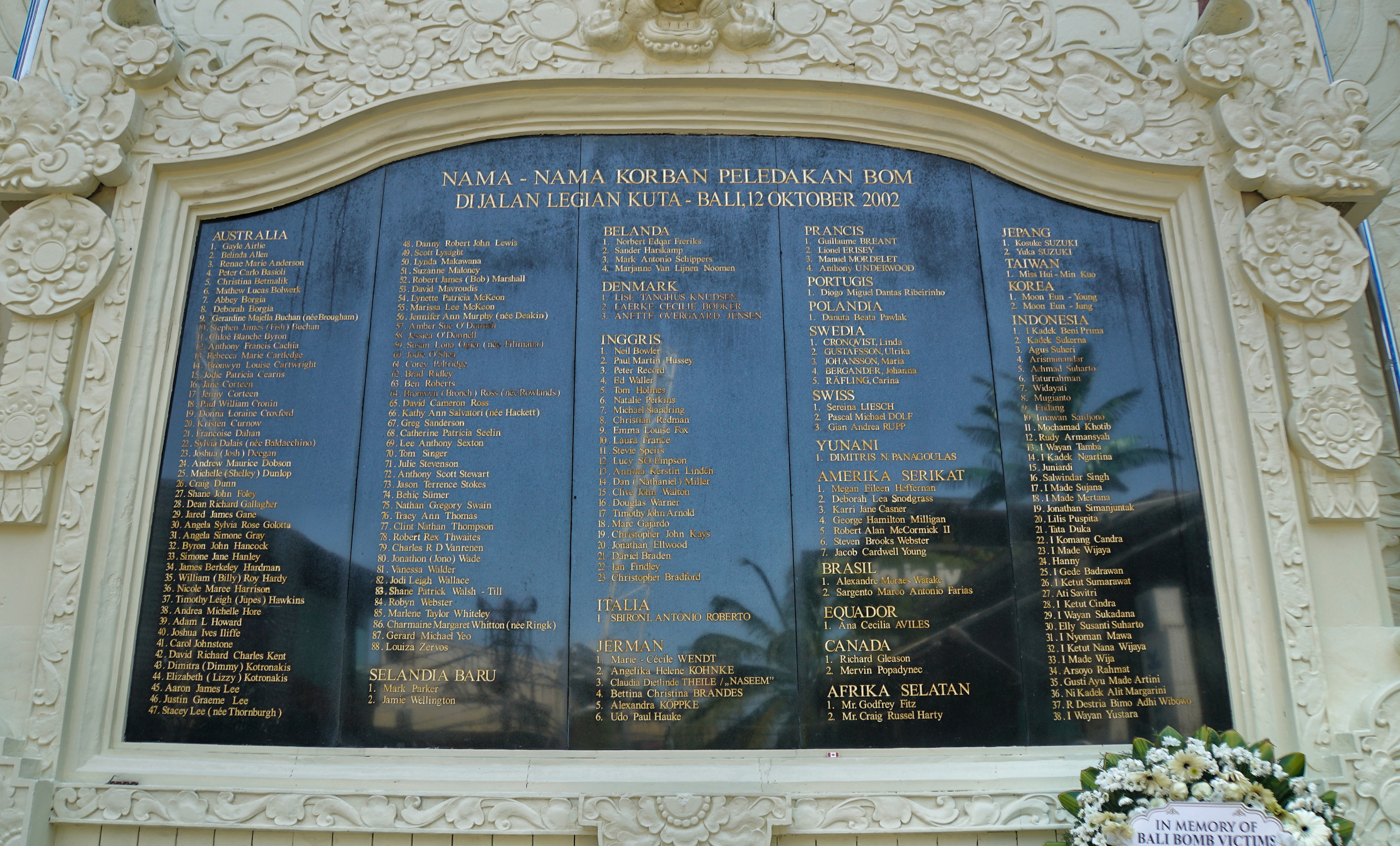 Bali bombing memorial to go ahead after health minister intervenes