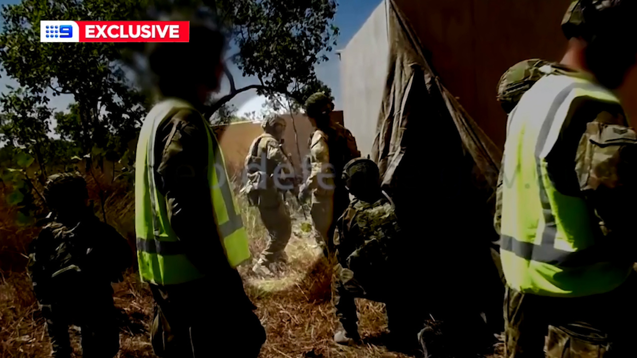 Bodycam footage from the live fire training exercise Private Challis was killed in.