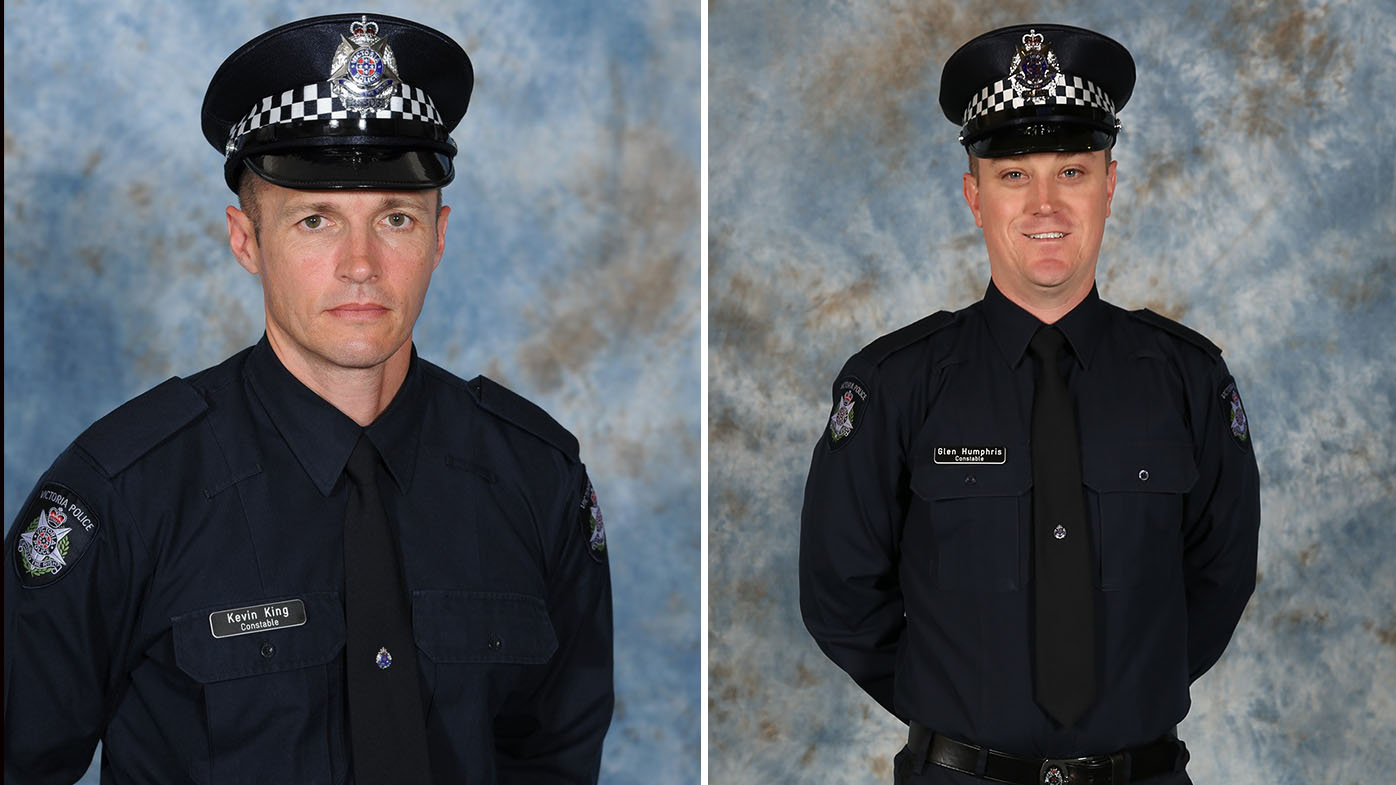 Two officers killed in freeway crash farewelled