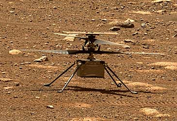 NASA robot helicopter on Mars (NASA)