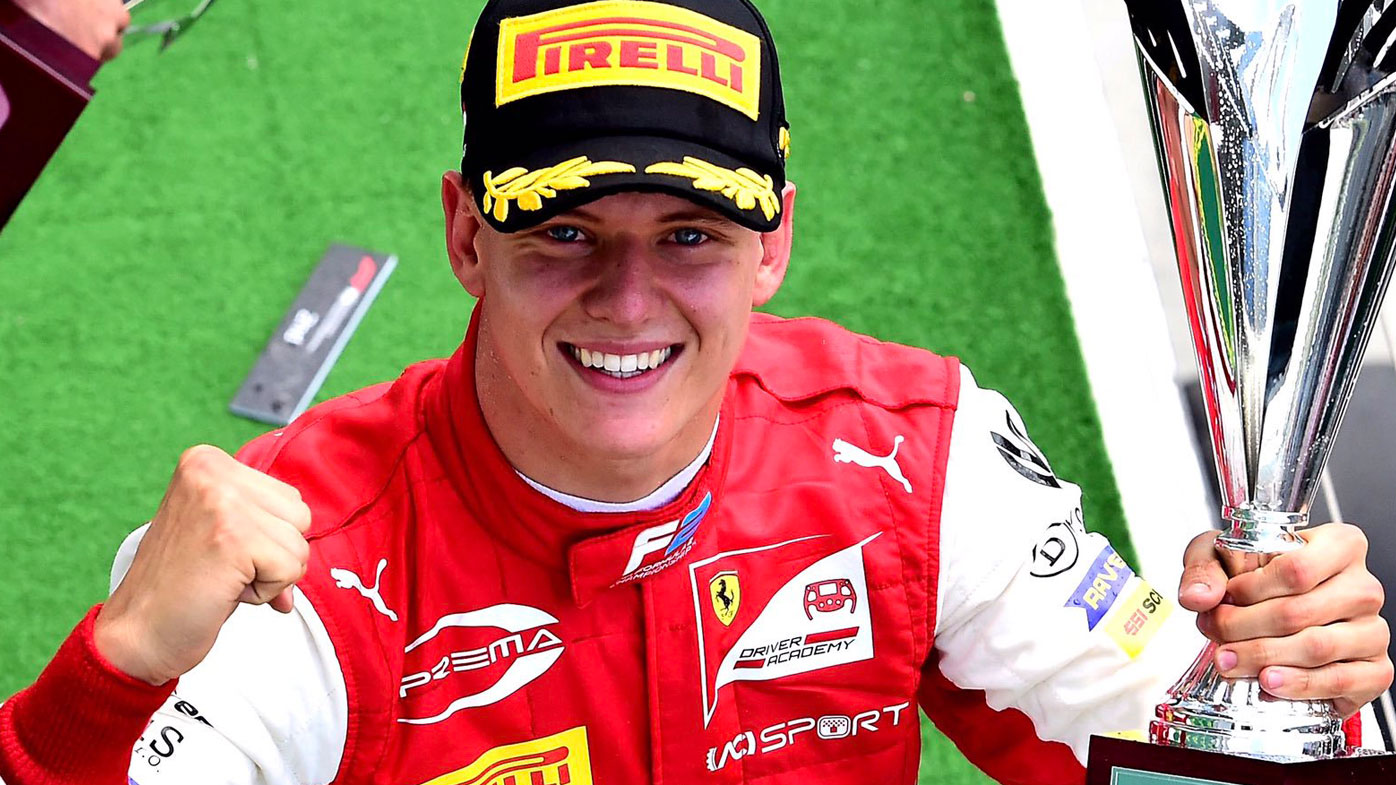 Mick Schumacher wins the F2 Hungarian GP