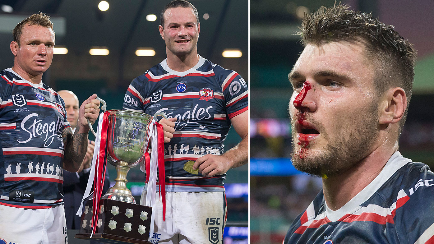 The Roosters win the ANZAC Day clash