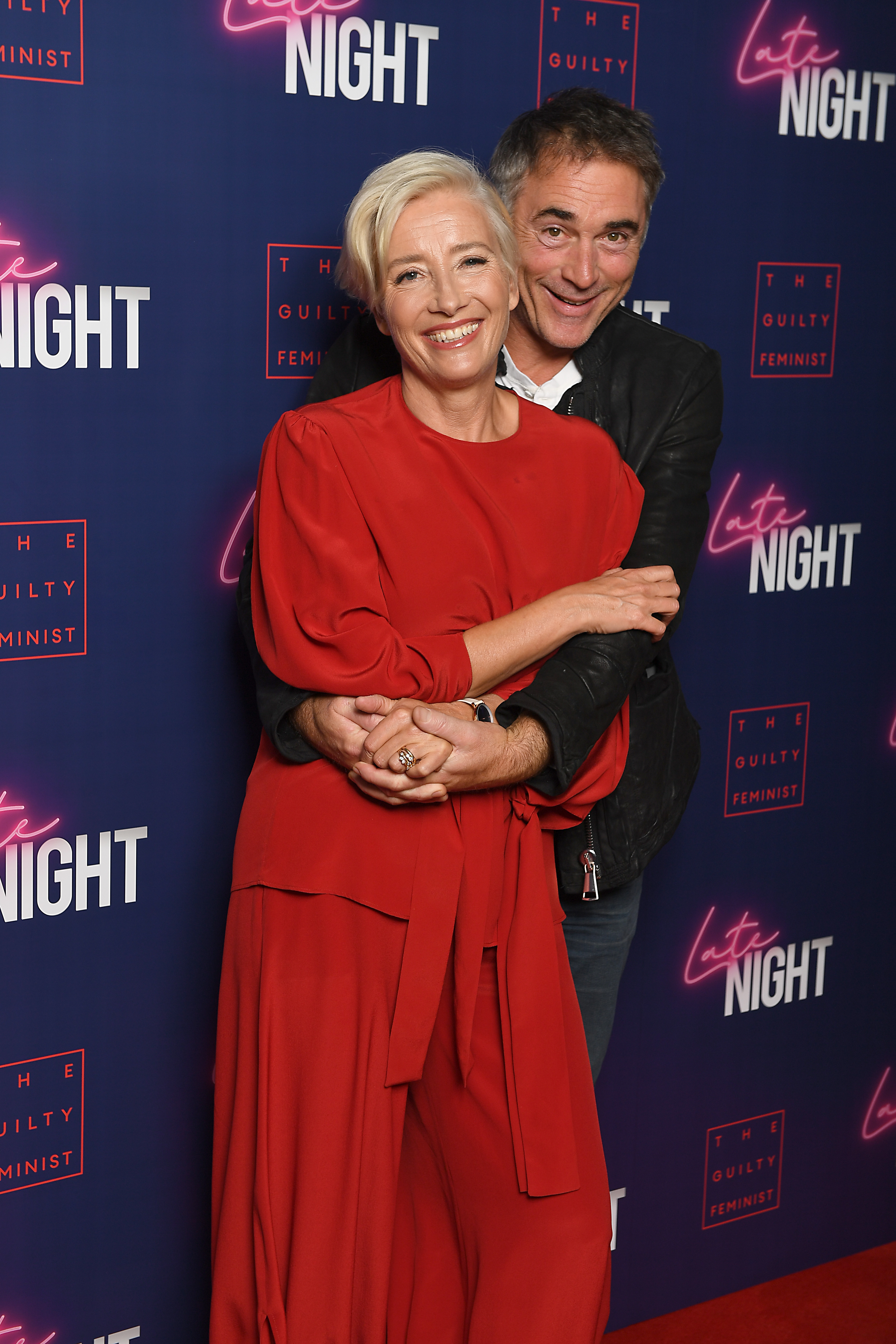 Emma Thompson, Greg Wise, Late Night Gala screening, Picturehouse Central on May 20, 2019 in London, England.