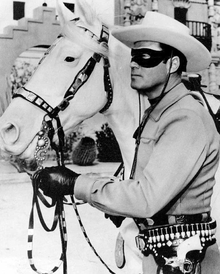 The Lone Ranger was a popular radio and television serial in the 1940s, when Donald Trump was a boy.