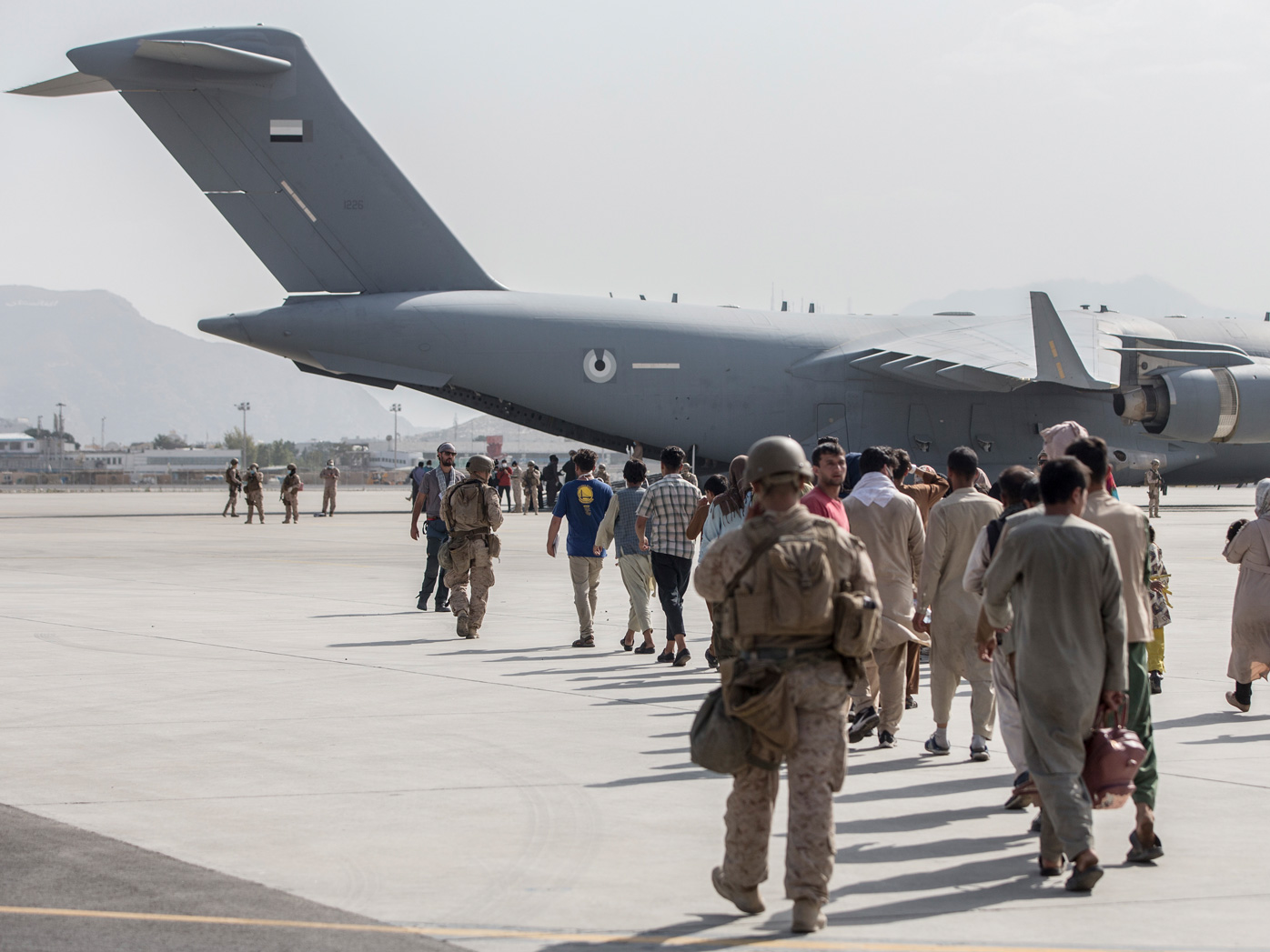 The US is considering extending a deadline beyond August 31 to help more people evacuate from Kabul and Afghanistan.