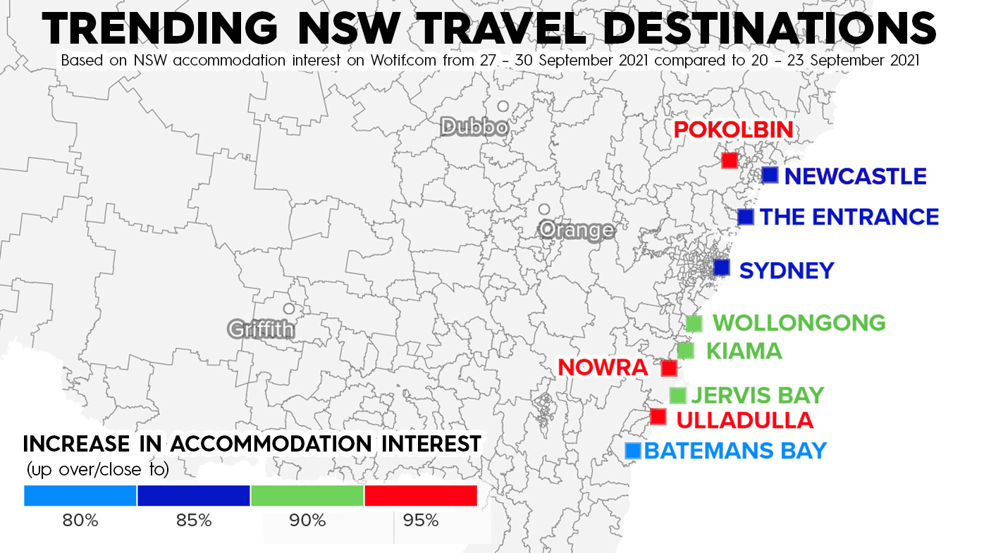 With the announcement of NSW's recovery roadmap, residents in the state are planning holidays for summer.
