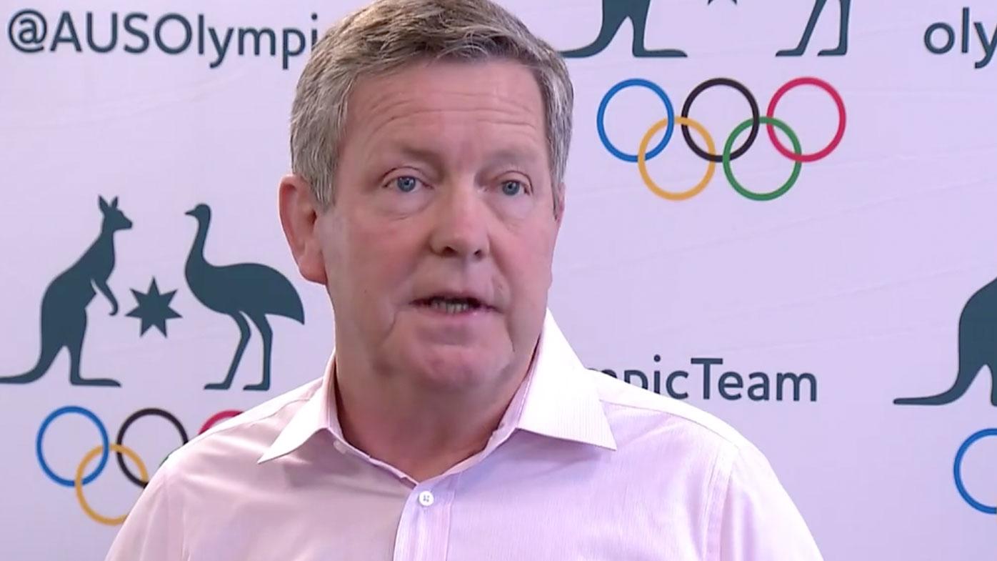 Australian Olympic Committee chief Matt Carroll